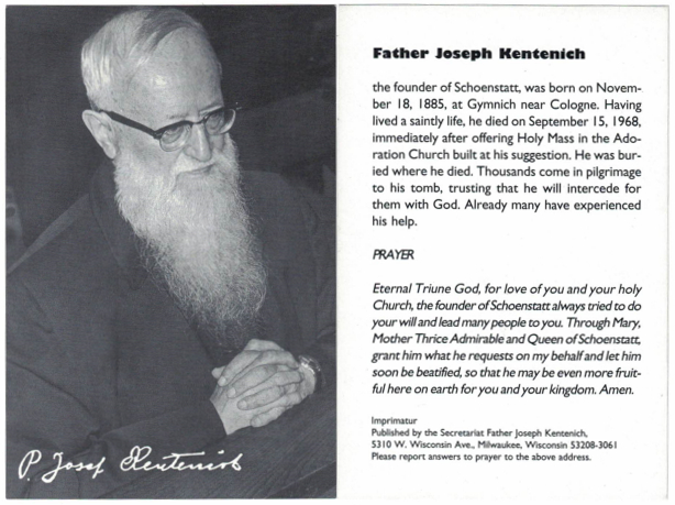 FatherKentenich_PrayerCardwPrayer